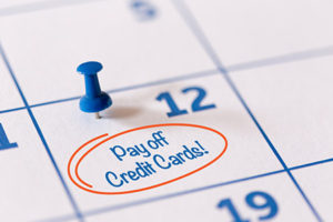 Credit Card Debt Relief Calendar