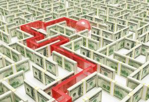 Maze of cash