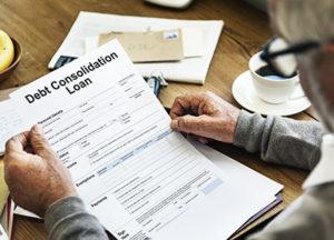 Debt Consolidation loan application