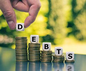 Reducing Debts metaphor