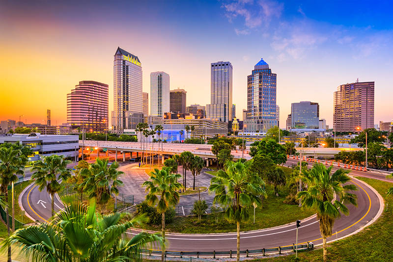 Downtown Tampa, Florda