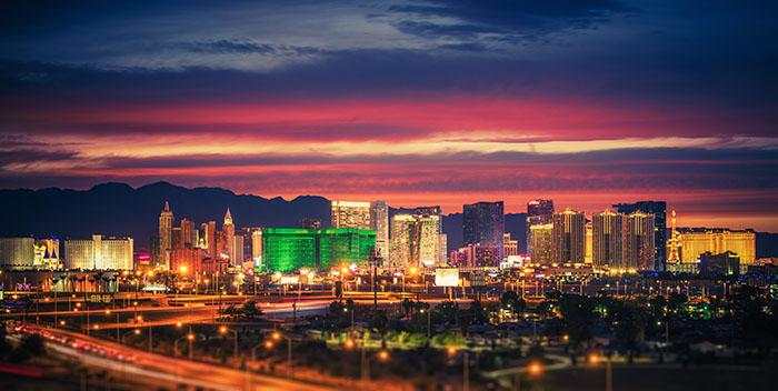 Las Vegas, Nevada city skyline